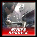 Stripe Removal Applications